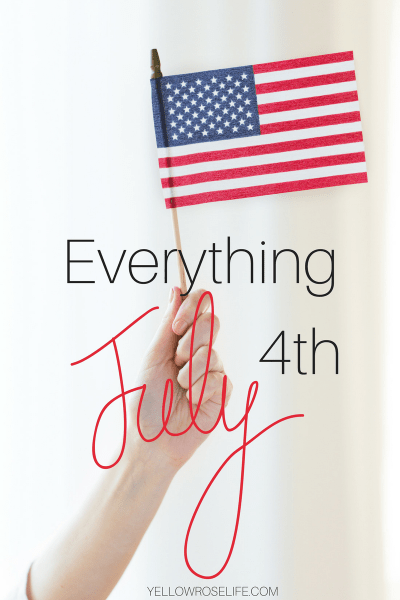 Everything you need this 4th of July to celebrate, cook, and look HOT! ||| Yellow Rose Life ||