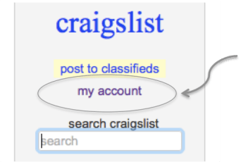 Craigslist Search Secrets! All the secrets you need to know to effectively search Craigslist for your next home decor or furniture find! || Yellow Rose Life ||