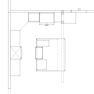 Yellow Rose House Farmhouse Kitchen Plans