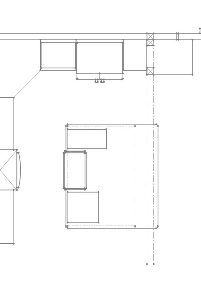 Yellow Rose House Farmhouse Kitchen Plans