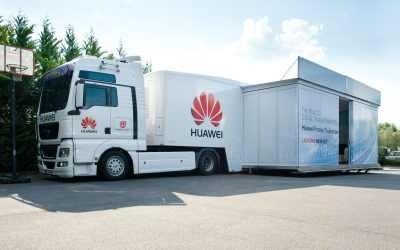 Huawei Tour de France Truckshow