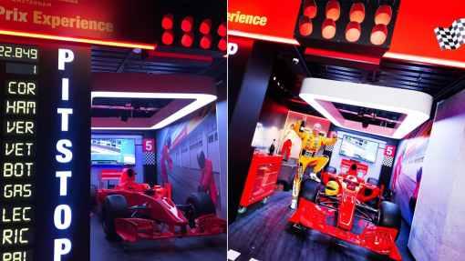 Madame Tussauds Grand Prix Experience