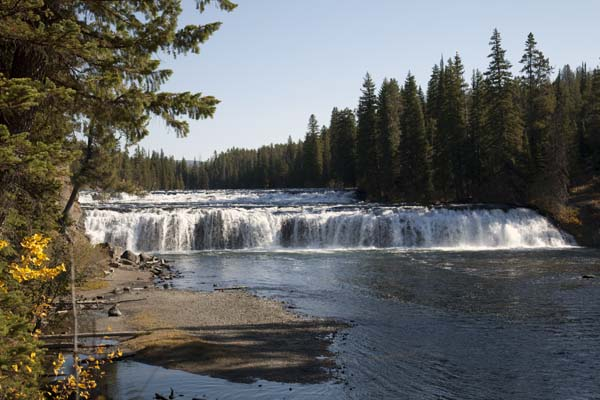 Cave Falls Picnic Area Information Pictures and Video