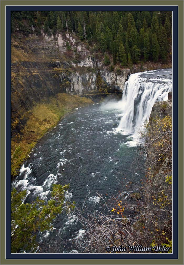 Mesa Falls Information Pictures and Videos  Yellowstone