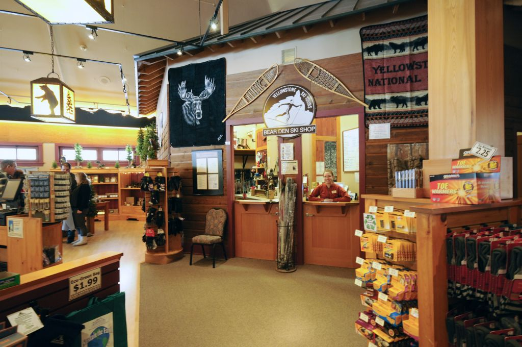 Bear Den Ski Shops Yellowstone National Park Lodges