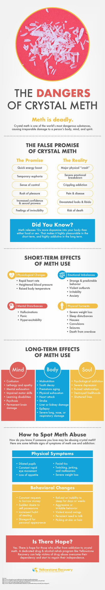 The Dangers of Crystal Meth Infographic