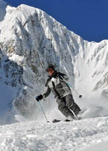 Skiing in Yellowstone