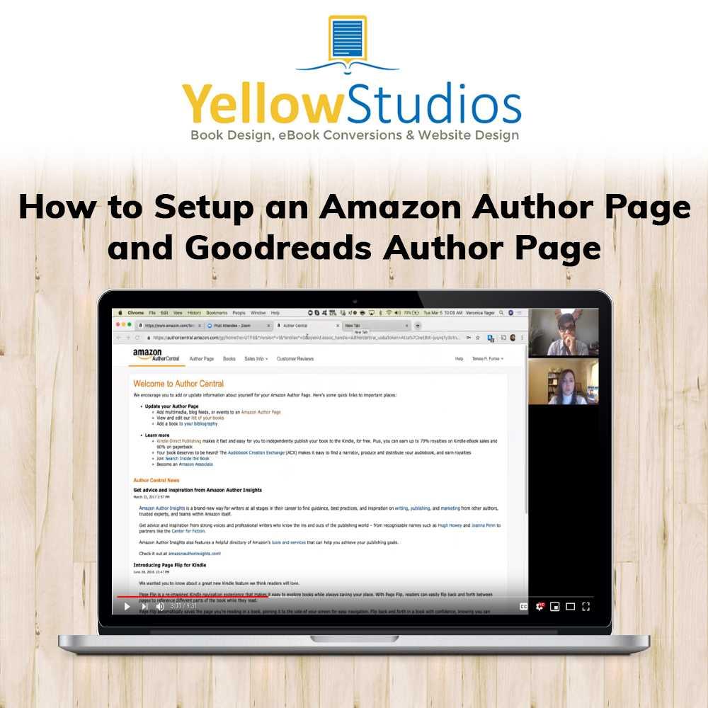 Blog • YellowStudios Book & Web Design