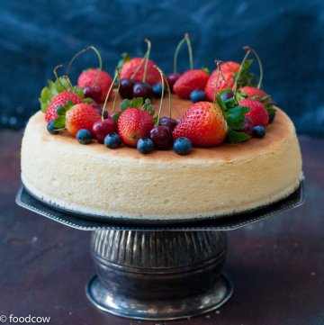 Light & Fluffy Japanese CheeseCake - Cotton Cheese Cake