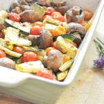 Baked Veggies with italian herbs