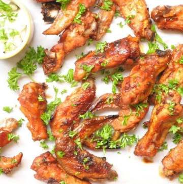 Spicy Tamarind Chicken Wings