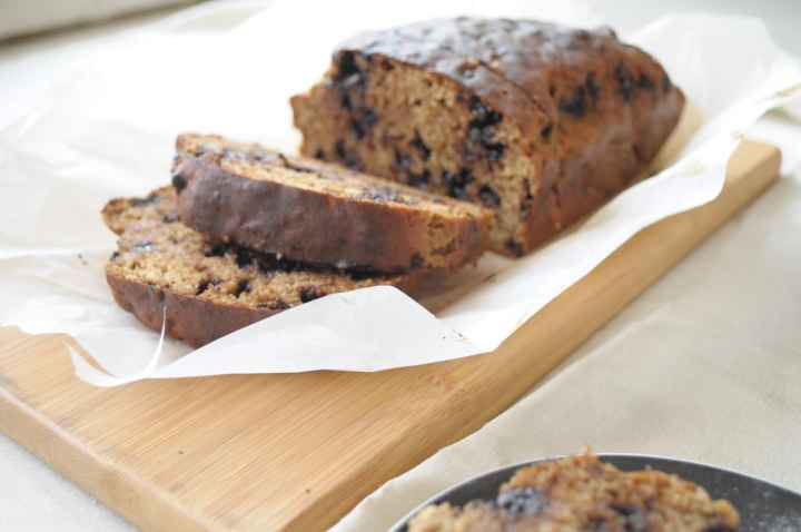 Healthy Banana Bread without Butter or Oil