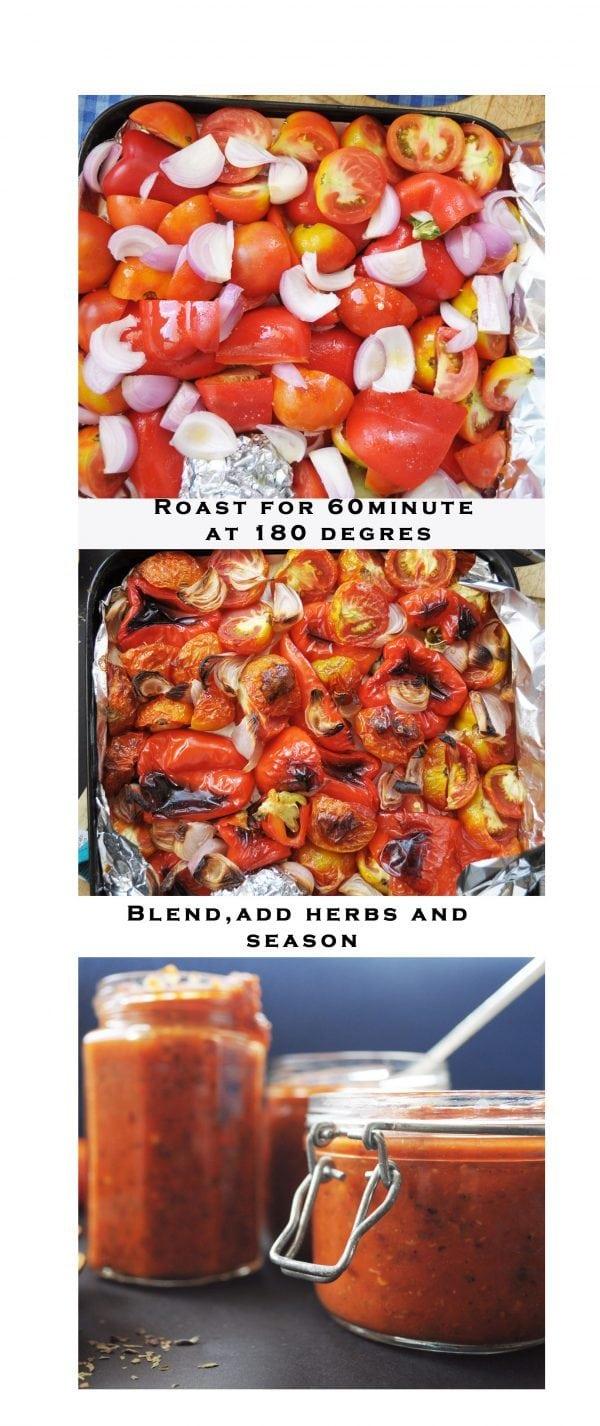 Versatile Roasted Tomato Sauce