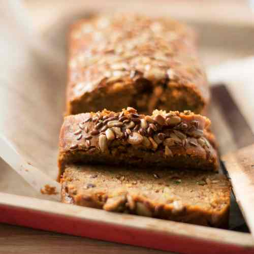 Healthy Zucchini Quick Bread