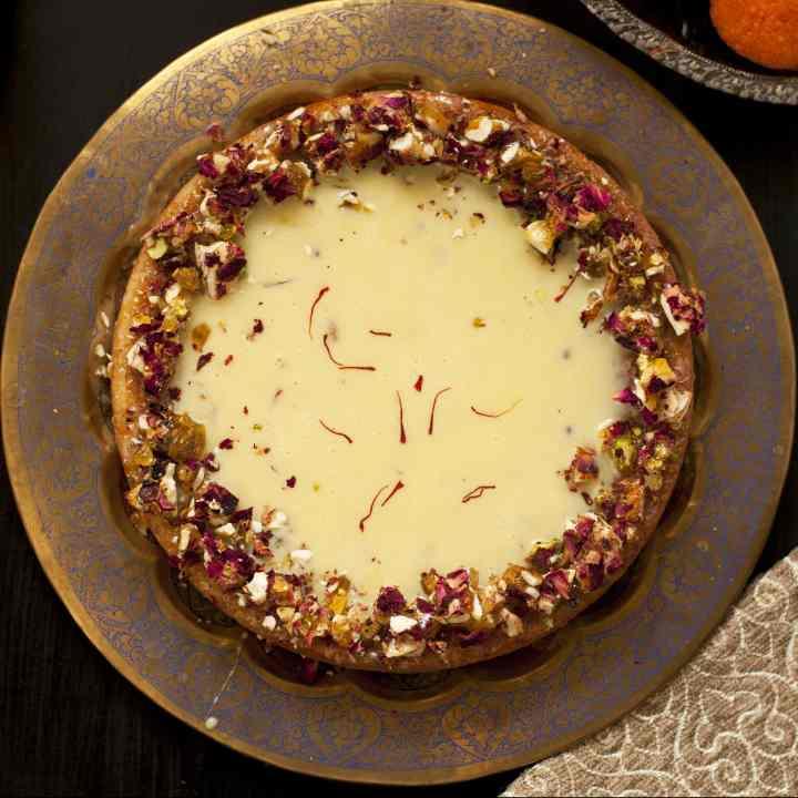 Saffron Cardamom Cake
