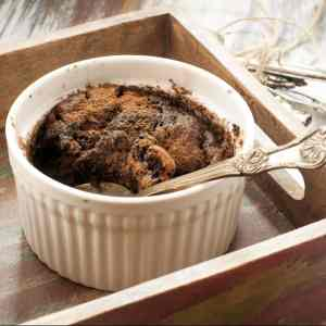 Healthy Self saucing Chocolate and Oats Gluten Free Pudding