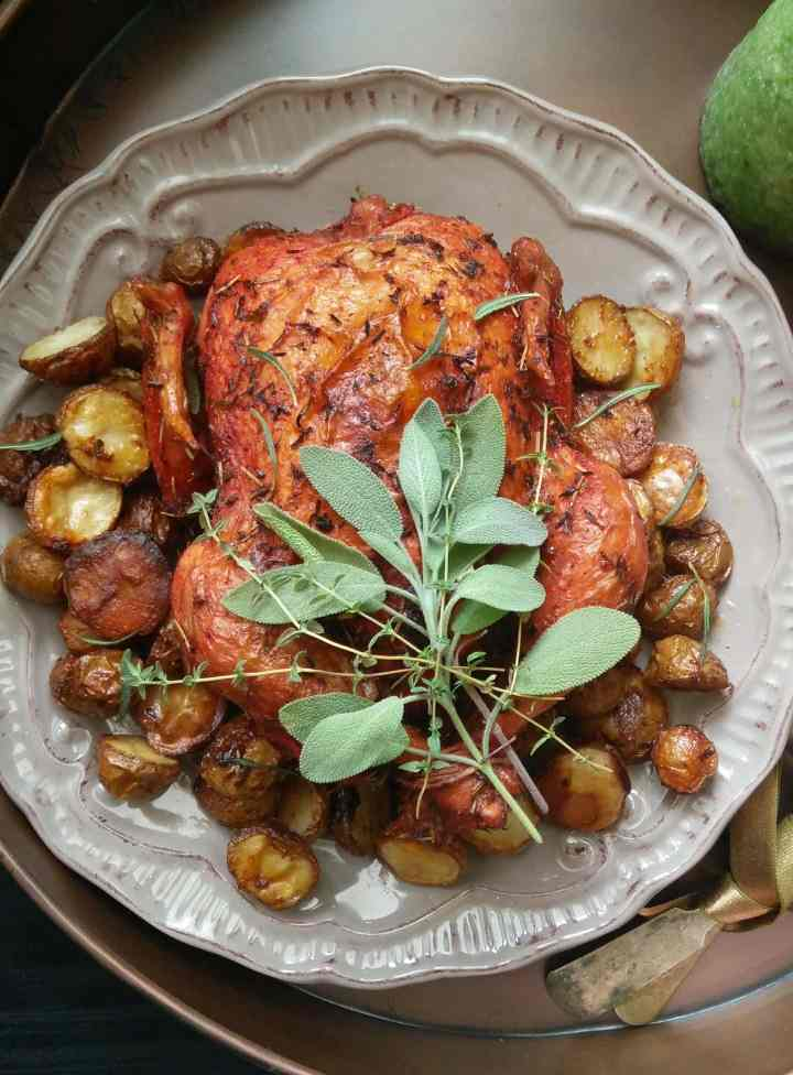 Herb & Paprika Roast Chicken