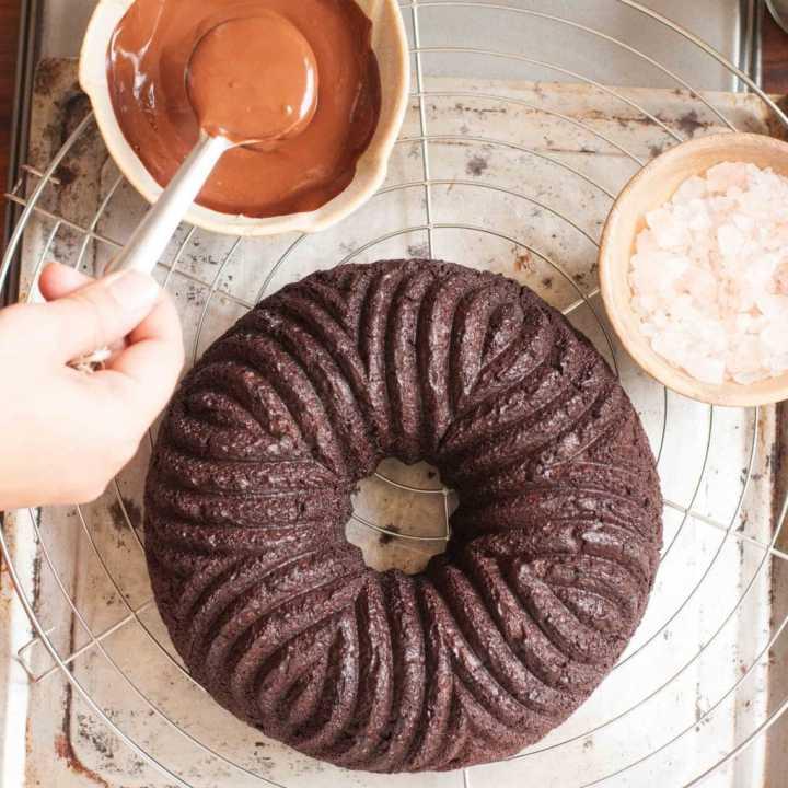 Genius Quinoa Chocolate Cake