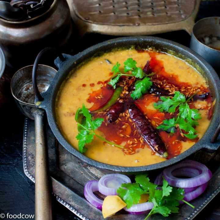 Dhaba Style Dal Tadka | Restaurant Style Yellow Dal