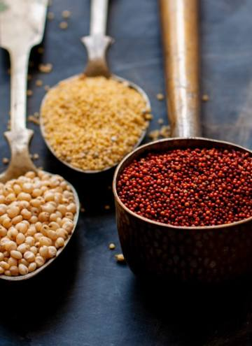 How to Introduce Millets in our diets - Why eat millet and what's the comparison of Millets to Wheat & Rice along with winner Millet recipes!