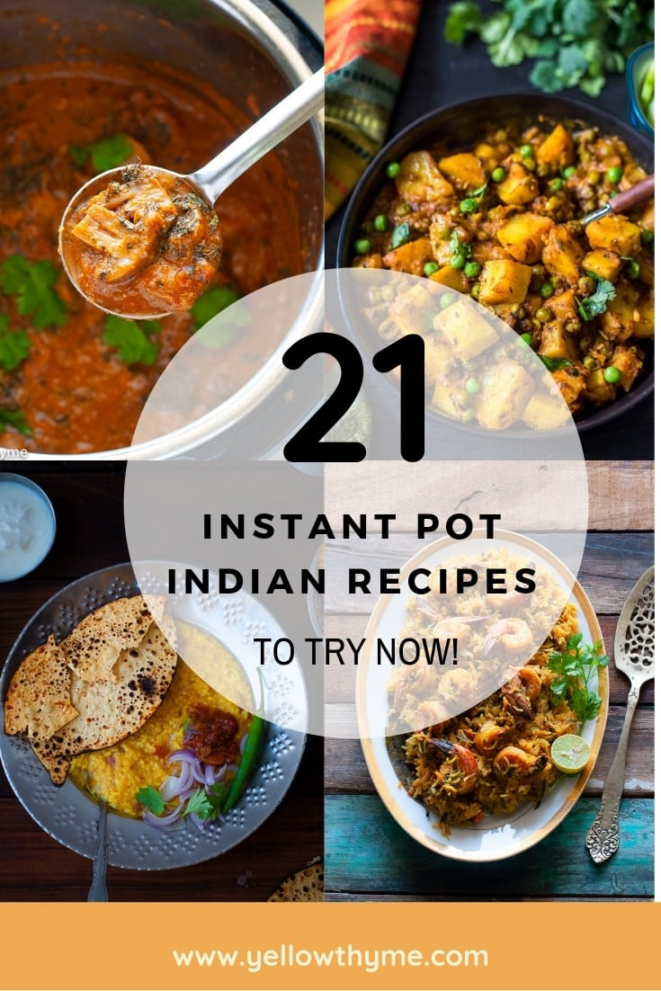21 Indian DISHES To Make In INSTANT POT