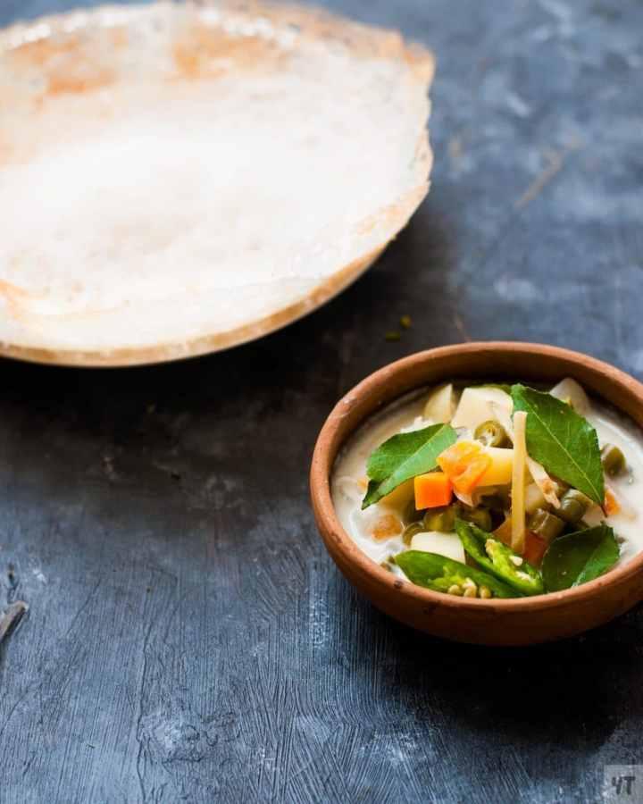 Kerala Vegetable Stew Recipe - Vegetarian Ishtu ,perfect for appams and idiappams, made with Coconut Milk.Vegan,Gluten Free,Keto freindly,Paleo recipe. #stew #malabar #kerala #keralarecipe #appam #vegetablestew #ishtu #coconutmilk #stew #vegan #paleo #glutenfree