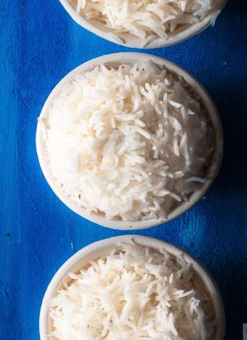 Basmati Rice in Instant Pot-Basmati Rice Cooked in instant pot in 4 ways