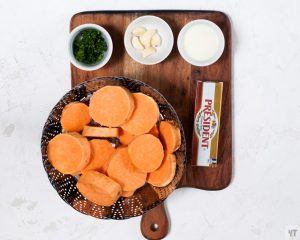 Ingredients for Instant Pot Mashed Sweet Potatoes