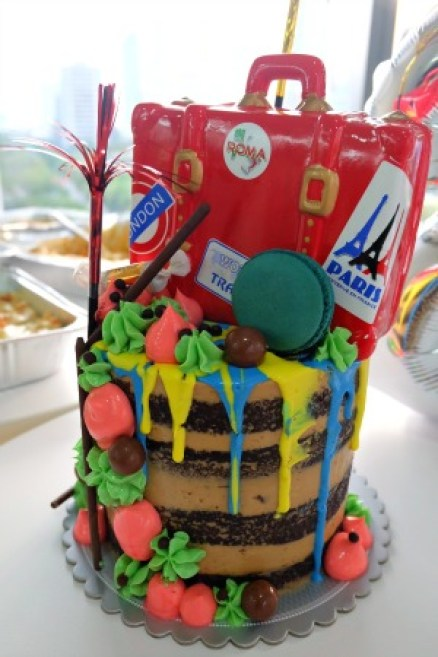 Travel Themed Party_Cake