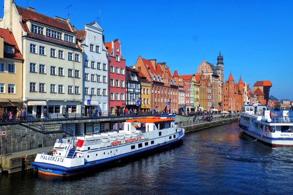 Motlawa River Gdansk Poland