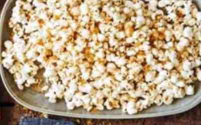 Smoky Manchego or Comte Popcorn