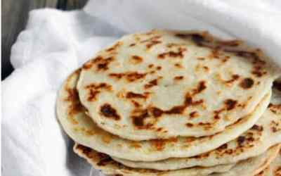 3 Ingredient Paleo Naan (Indian Bread) Recipe