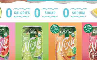 Nixie Organic Sparkling Water