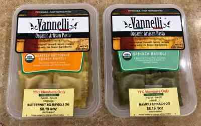 Vannelli Organic Raviolis