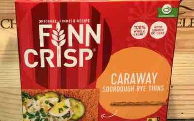 Finn Crisp and Kettle Truffle & Sea Salt Chips