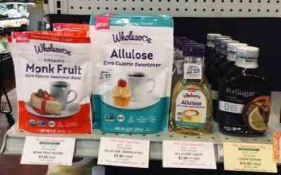 More 'sugar' choices