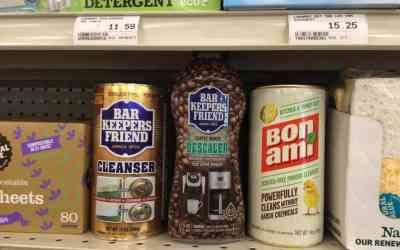 Bar Keepers Friend Cleanser and Coffee Maker Descaler