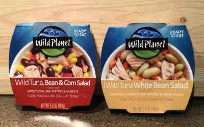 Wild Planet Ready to Eat Tuna, Bean Salads