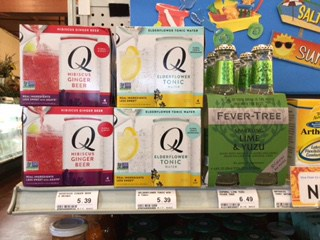 New Drinks from Q Drinks and Fever-Tree