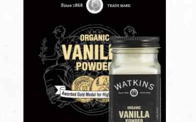 Watkins Organic Vanilla Powder