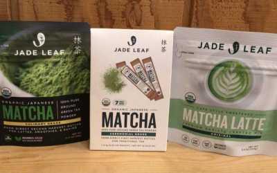 Jade Leaf Organic Matcha Latte Mix, Culinary Matcha and Ceremonial Matcha
