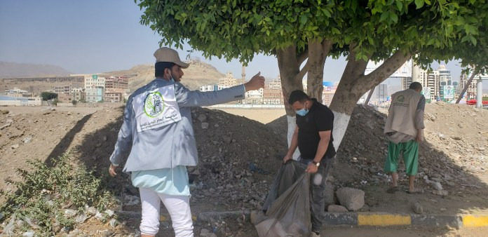 أنعام اليمن للتنمية تنفذ حملة نظافة في عدد من شوارع أمانة العاصمة8