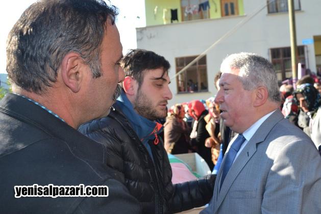 AK Parti Şalpazarı İlçe Başkanı Murat Topkara, merhum Remzi Çıtlak'ın yakınlarına başsağlığı diledi
