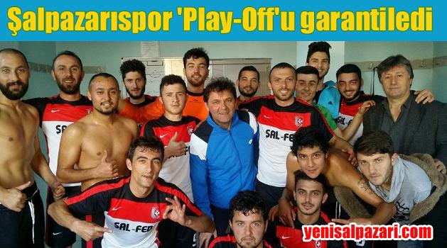 Şalpazarıspor Play-Off'a çıkmayı garantiledi