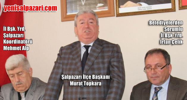 Başkan Topkara, Şalpazarı'na hizmet için bütün kapıları aşındırdıklarını söyledi