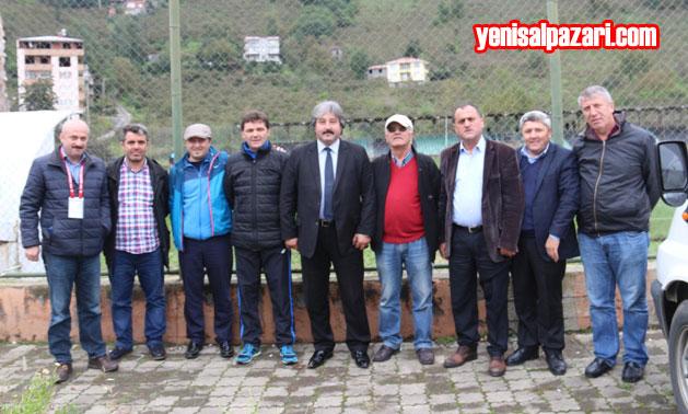 Maçtan sonra Şalpazarıspor Taraftarı ve Yöneticileri İlçeye mutlu döndü