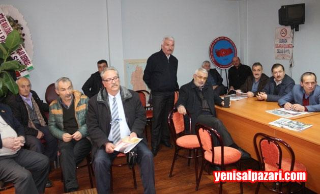 Şalpazarılı Muhtarlar Genel Kurul Toplantısında sorunlarını da tartıştılar.