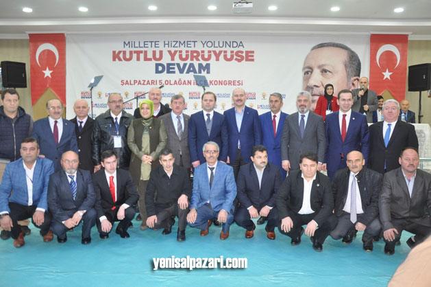 AK Parti'nin yeni Yönetim Kurulu Üyeleri Bakan Soylu ile fotoğraf çektirdiler