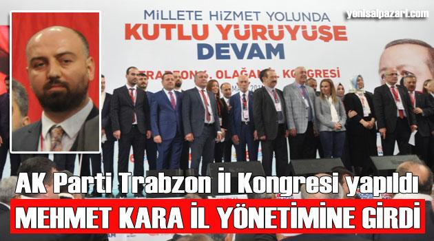 AK Parti Trabzon 6. Olağan Kongresi yapıldı