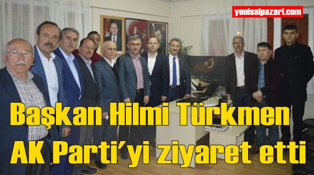 Üsküdar Belediye Başkanı Türkmen, Şalpazarı'nda ziyaret ve incelemelerde bulundu